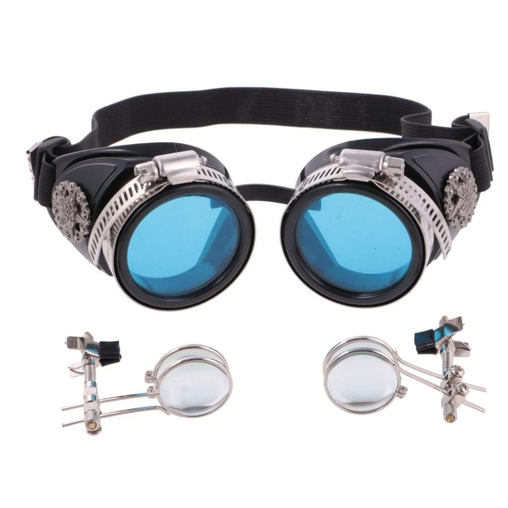 """Steampunk Brille """"Forscher"""""""