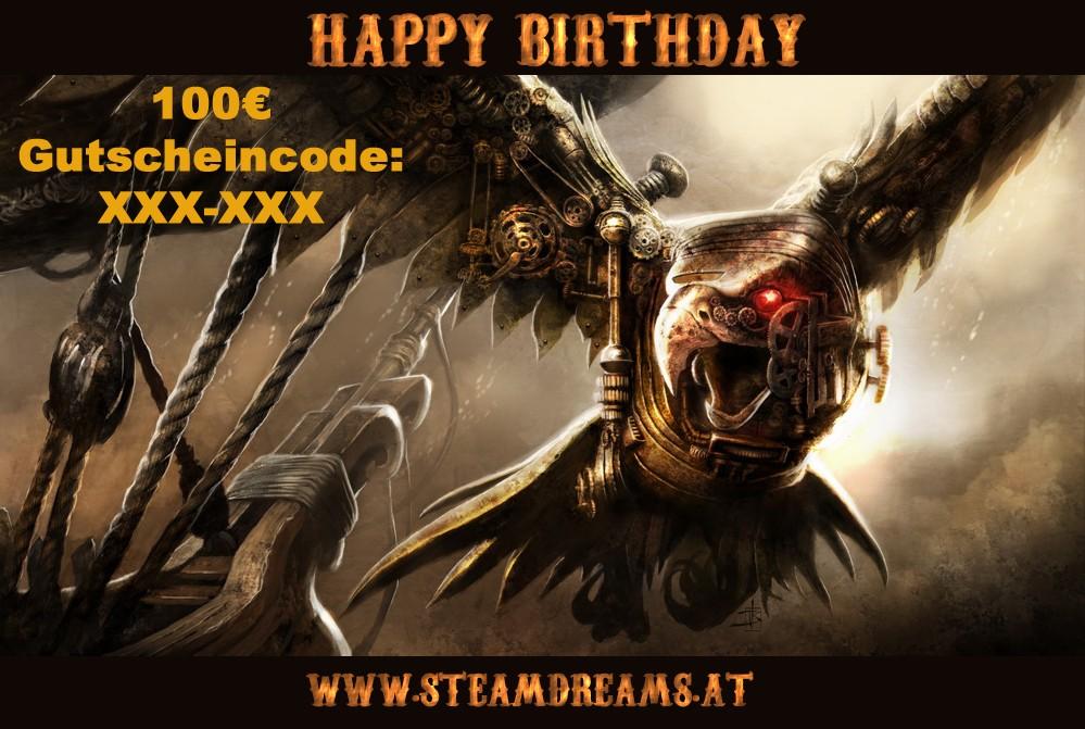 100€ Geburtstagsgutschein
