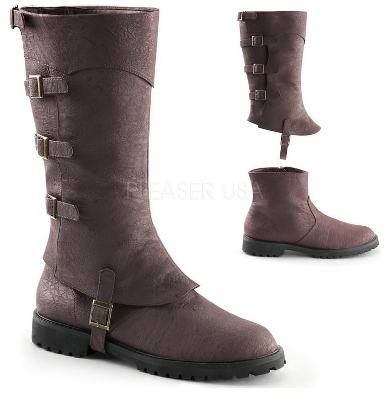 Gamaschen Stiefel Steampunk Schuhe Gentlemen