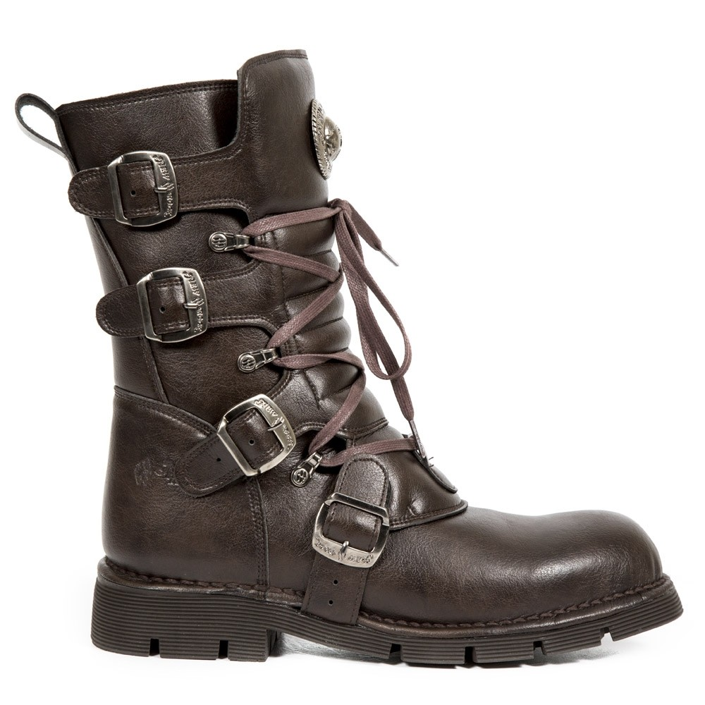 New Rock Steampunk Boots - Vegan