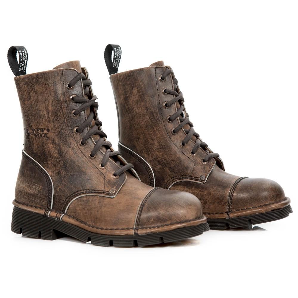 New Rock Boots Lodge Flache Schuhe Steampunk Schuhe Ladies