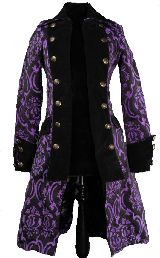 "Piraten Mantel ""Sweet Purple"""