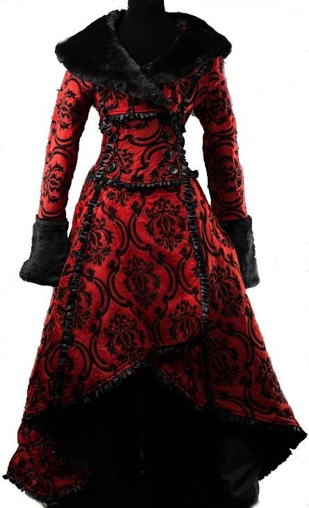 "Mantel ""Red Evil Queen"""