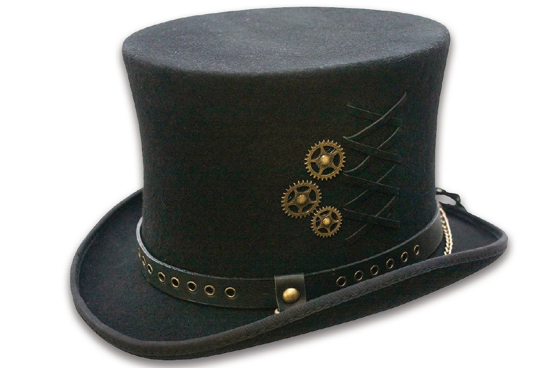 "Steampunk Zylinder ""Lacing"""