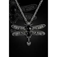 """Halskette und Brosche """"Libelle"""""""