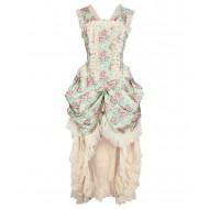 Viktorianisches Korsettkleid Gr.XL