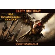 60€ Geburtstagsgutschein