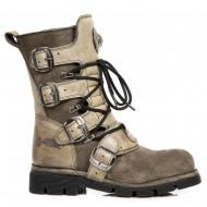 """Steampunk Boots """"Desert Dust"""""""