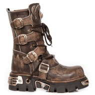 New Rock Steampunk Flammen Boots