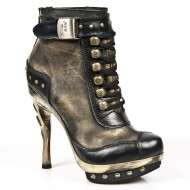 "New Rock High Heels ""Oro"""
