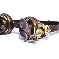 "Steampunk Brille ""Forscher"""