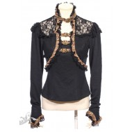 "Steampunk Shirt ""Ebony"""
