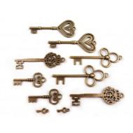 Steampunk Schlüssel-Set
